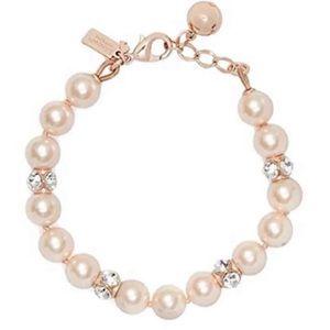 Kate Spade Marmalade Rose Pearl Bracelet